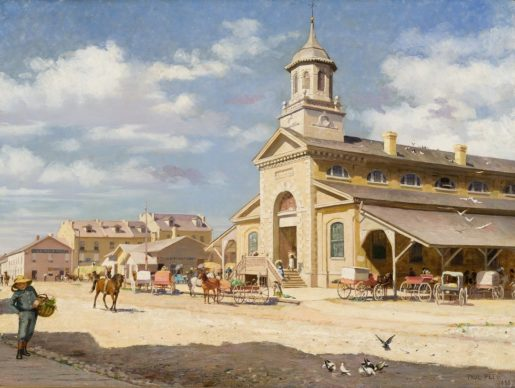Peel Paul The Covent Garden Market London Ontario 1883 69 A 46 Dk Re Sized